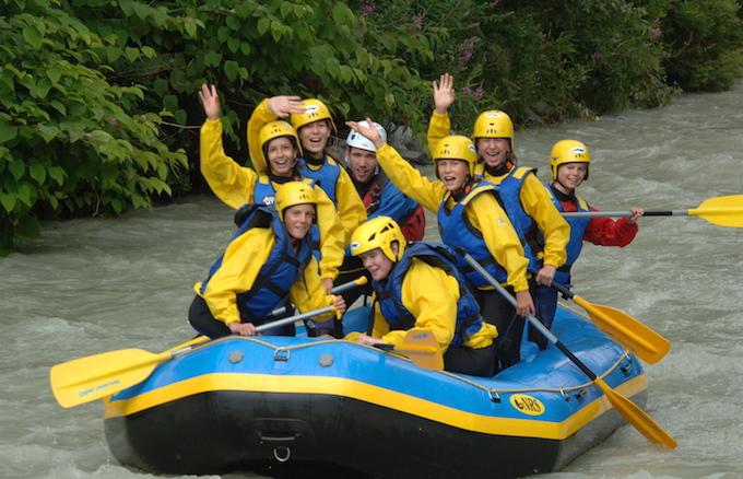 Chamonix Summer Holiday(s), Chamonix Activities, Water Rafting