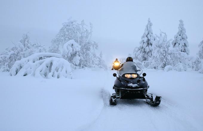 Chamonix Winter Activities, Chamonix Winter holiday(s), skidoo