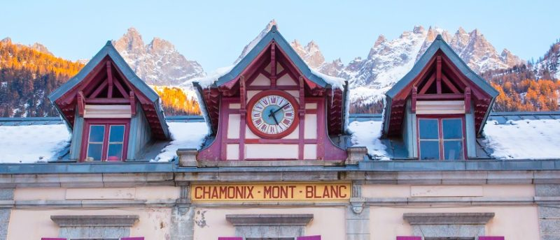 Trains in Chamonix