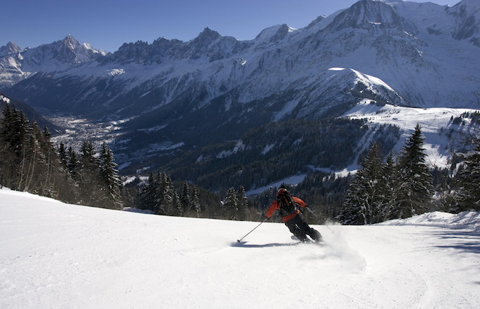 chamonix winter holiday, chamonix ski holiday, chamonix ski area, les houches