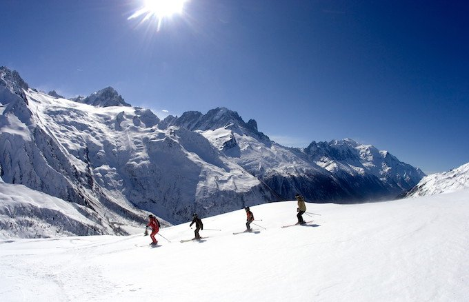 chamonix winter holiday, chamonix ski holiday, chamonix ski area, le tour, balme