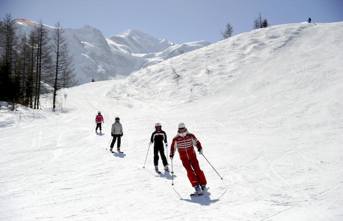 chamonix winter holiday, chamonix ski holiday, adult ski lessons