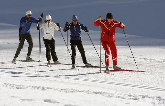 chamonix ski holiday, chamonix cross country skiing, chamonix winter holiday