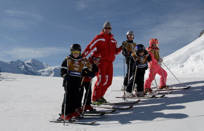 chamonix ski holiday, chamonix winter holiday, chamonix family holiday, kids ski lessons