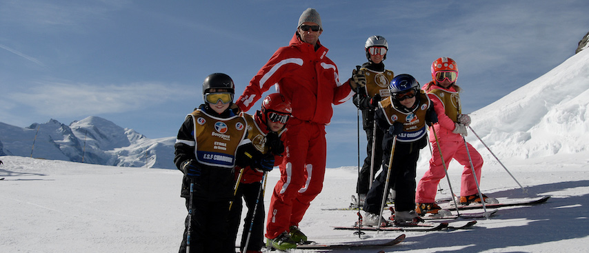 chamonix ski holiday, chamonix winter holiday, kids ski lessons,