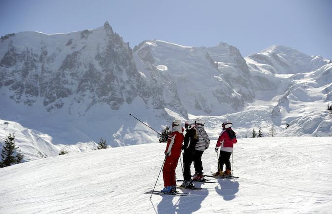 chamonix winter holiday, chamonix ski holiday, private ski lesson
