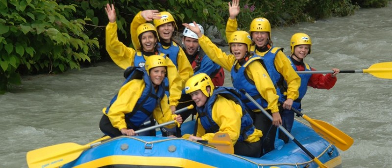 Rafting Chamonix Summer Holiday