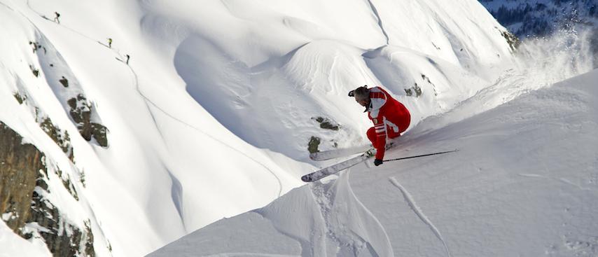 chamonix ski holiday, chamonix winter holiday, heliskiing