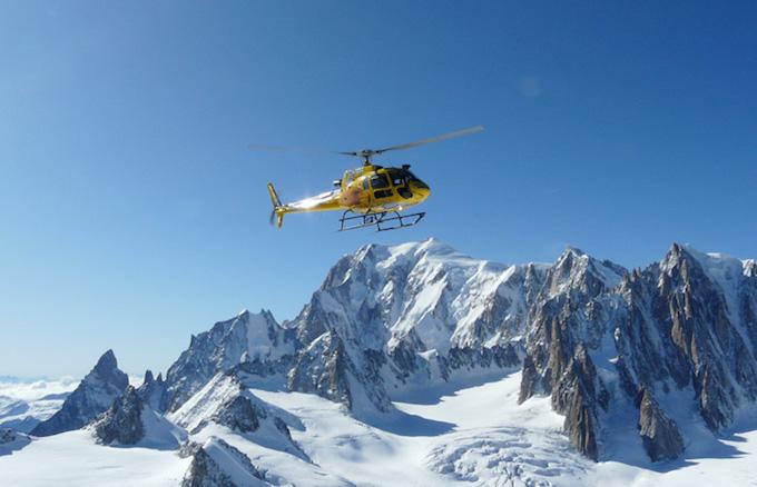 Chamonix ski holiday, Chamonix activities, heliskiing