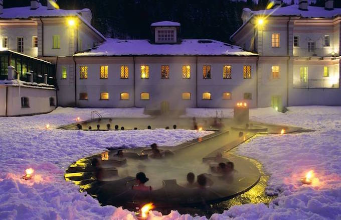 Chamonix ski holiday, chamonix day trips, chamonix activities, italian thermal spa