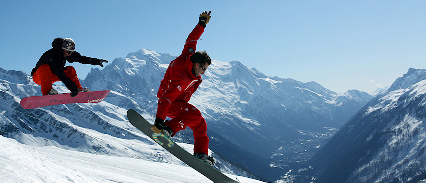 chamonix winter holiday, chamonix ski holiday, le tour, private snowboard lessons, private ski lessons