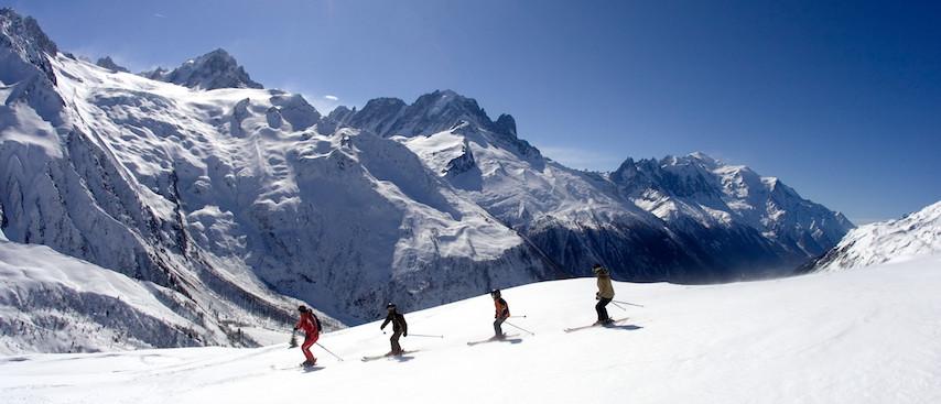 chamonix winter holiday, chamonix ski holiday, le tour, balme