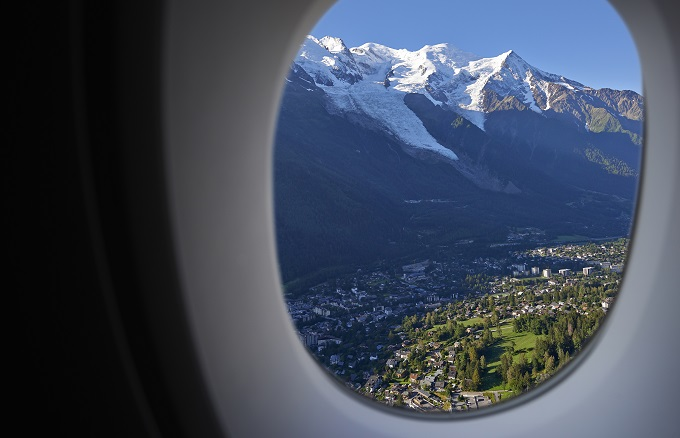 Flights to Chamonix