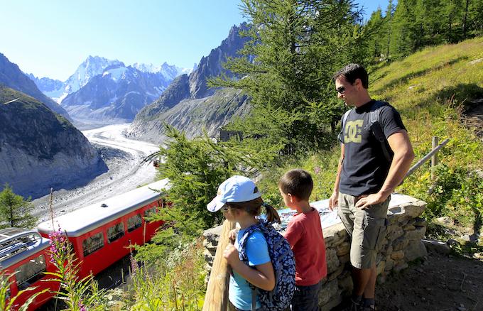 Chamonix Summer Holiday, Montenvers, Aiguille du Midi,
