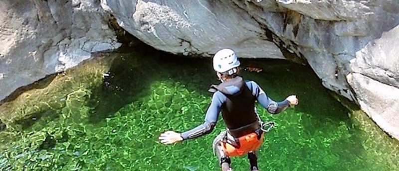 Chamonix Summer Holiday(s), Chamonix Activities, Canyoning