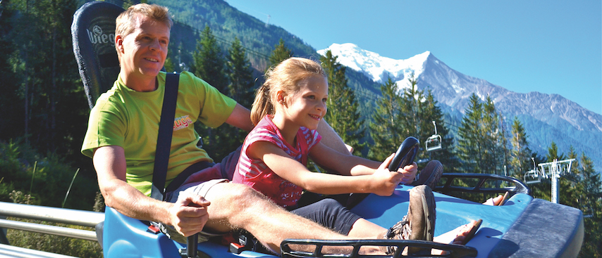 Chamonix Summer Holiday(s), Chamonix Activities, Luge, Chamonix adventure parks