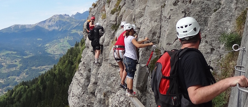 Chamonix Summer Holiday(s), Chamonix Activities, Via Ferrata