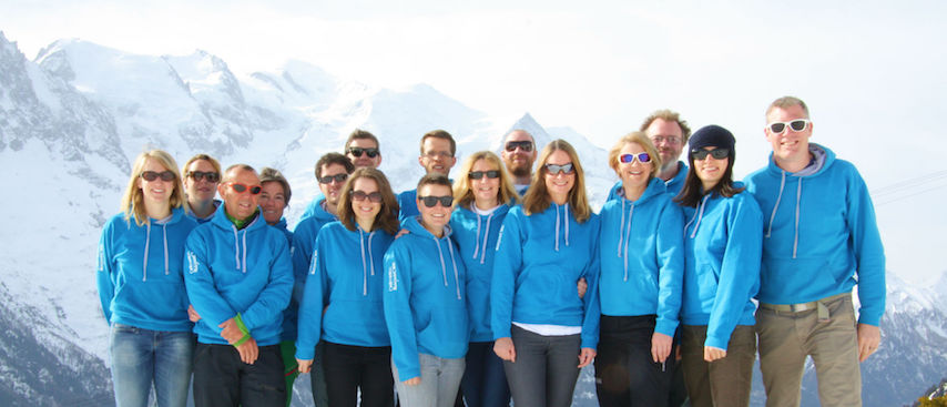 Chamonix all year team photo, chamonix holiday, chamonix accommodation