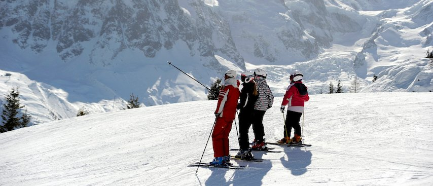 chamonix ski holiday, chamonix winter holiday, private ski lessons