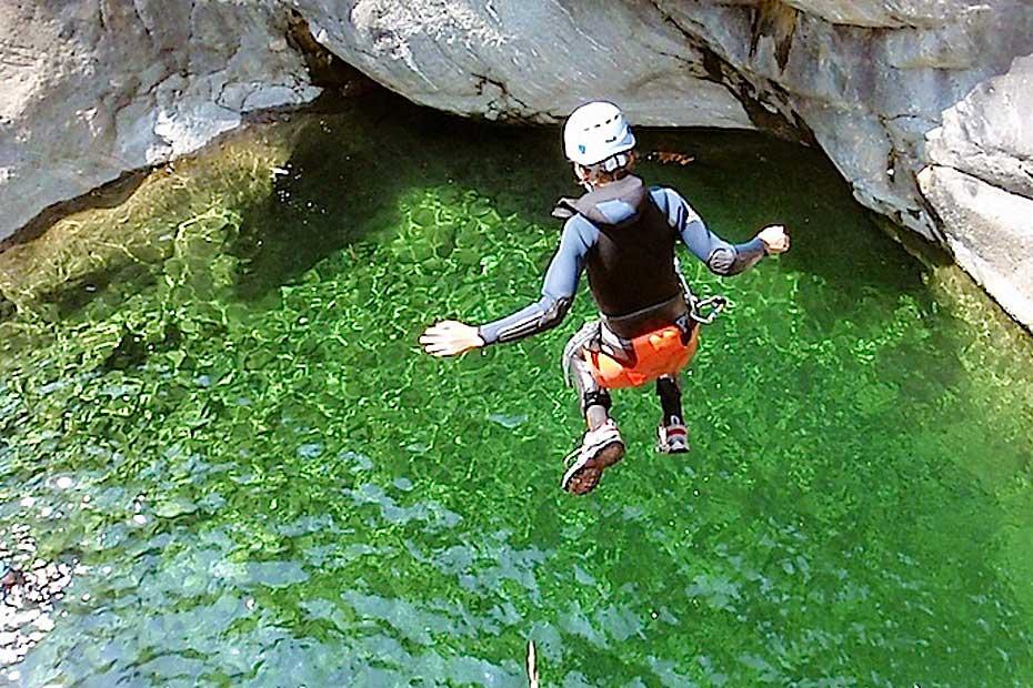 Chamonix Canyoning