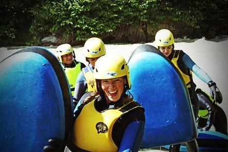 Chamonix Hydrospeed Day