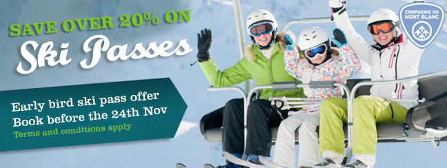 Save on your Chamonix Ski pass