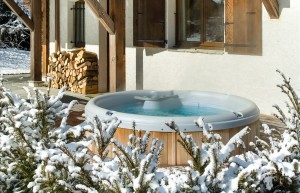 Chalet Cerisier hot tub