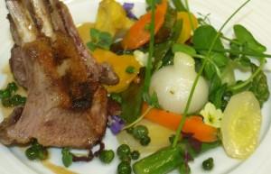 lamb shank Auberge du Bois Prin