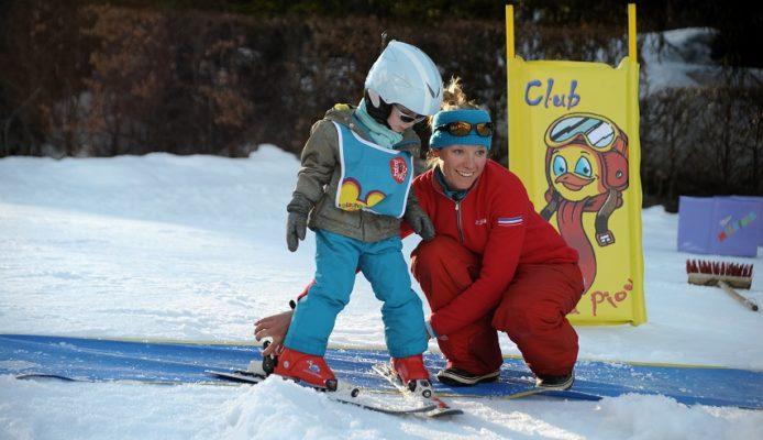 Activités enfants Chamonix - école de ski kids winter activities in Chamonix