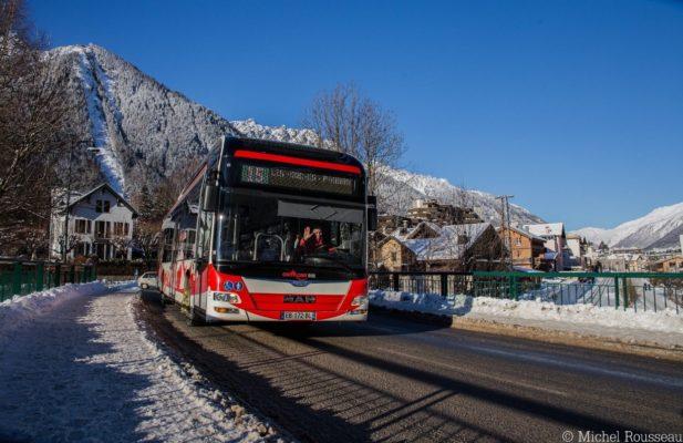 bus guide to chamonix