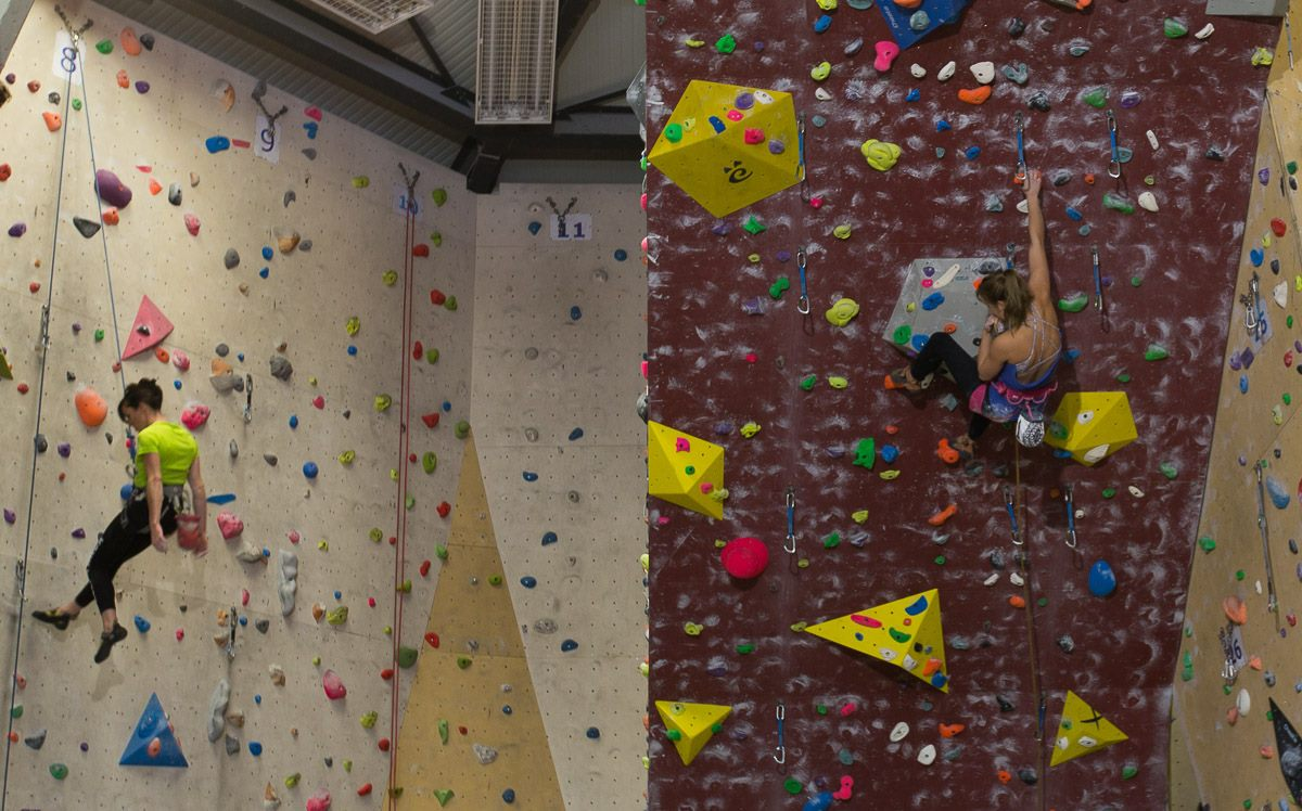 mont-blanc-escalade indoor climbing in Chamonix