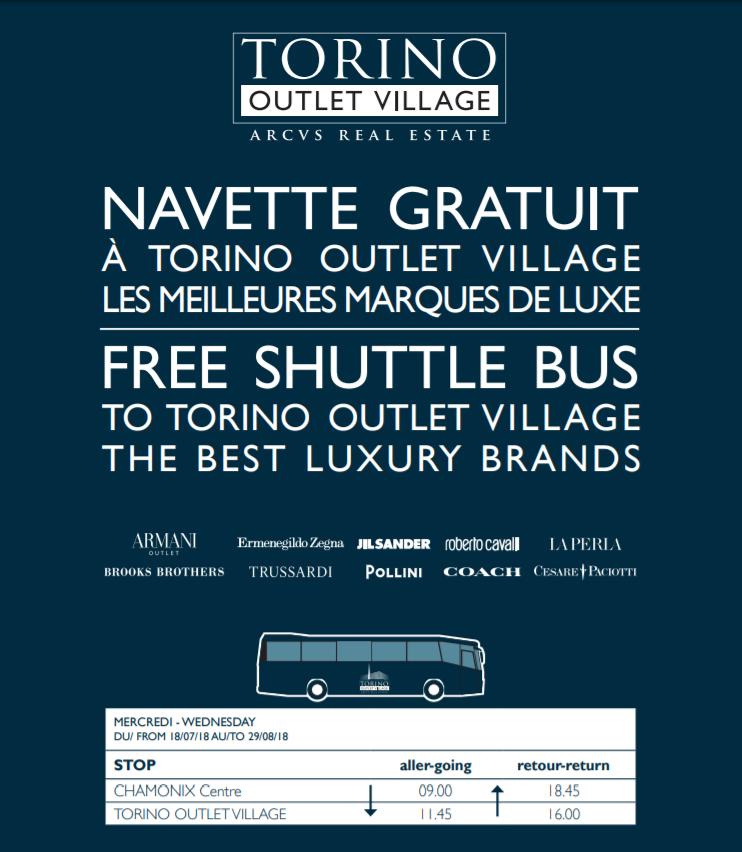 torino-outlet-village-shuttle Faire du shopping à Turin