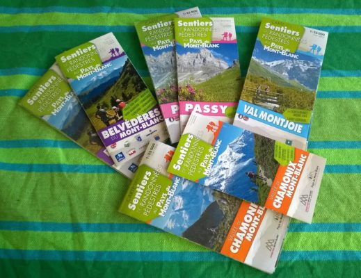 Tourist Office booklets & maps © montblancfamilyfun.com Family Hikes in Chamonix