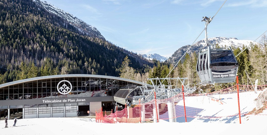 telecabine-plan-joran-grands-montets New in Chamonix Winter 2018-19