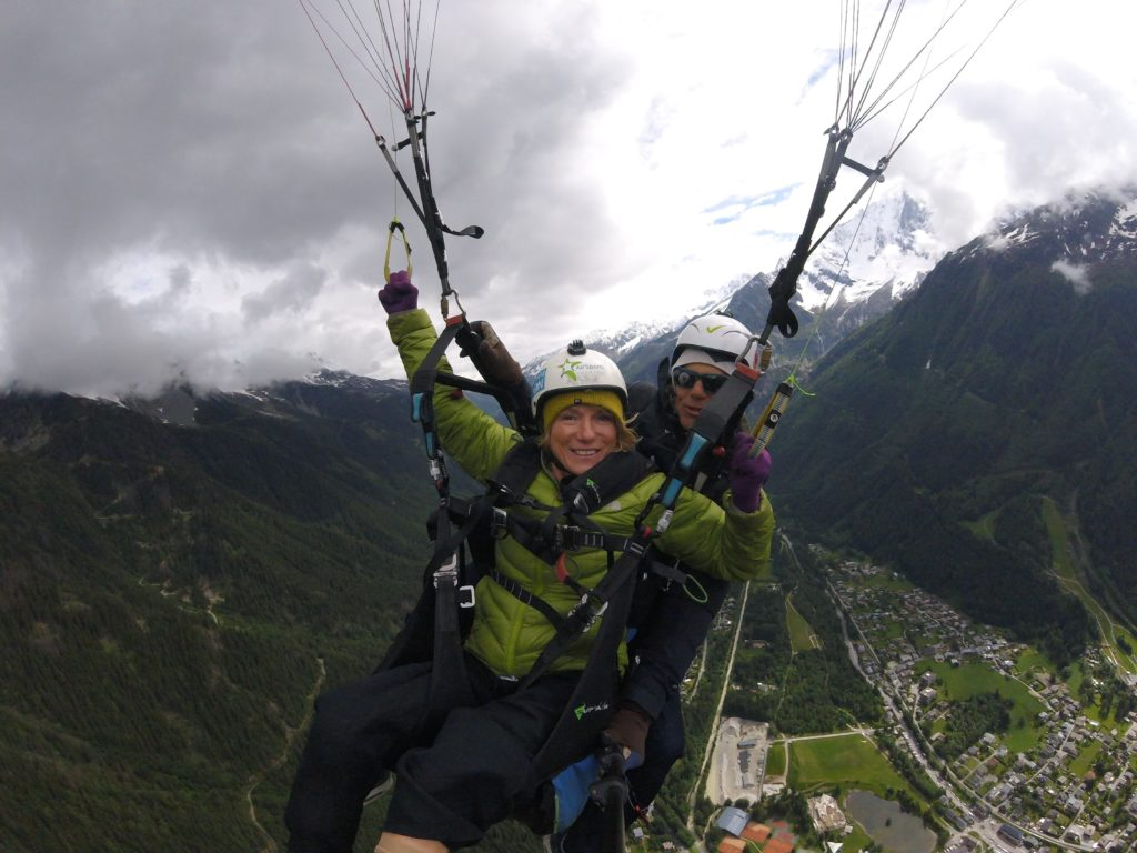 disabled-parapente-kirsten-taylor Disabled visitors coming to Chamonix