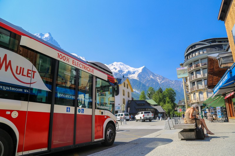 mulet-bus-chamonix Disabled visitors coming to Chamonix