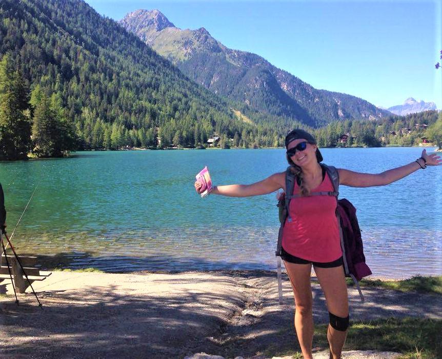 goda-at-lake-champex Tour du Mont Blanc